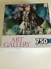 """ART GALLERY """"Forget Me Not"""" 750 Piece Jigsaw Puzzle (SEALED)"""