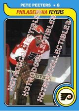 1979-80 OPC O Pee Chee Custom Pete Peeters Philadelphia Flyers NHL #497