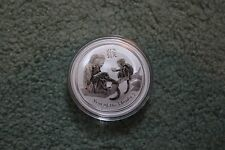 2016 Australian Lunar Monkey 1 oz ounce Silver Bullion Coin Unc Perth Mint