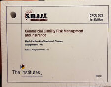 S.M.A.R.T STUDY AIDS Commercial Liability Risk Management and Insurance CPCU552