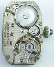 Goering Watch Co. Wristwatch Movement - Sold for Parts / Repair