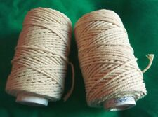 2 Spools Cotton Twisted Thread Candle wick Candlewicking Jewellery making Craft
