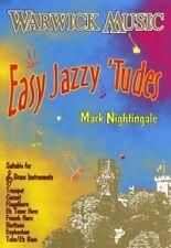EASY JAZZY TUDES Treble Brass Insts Nightingale+CD