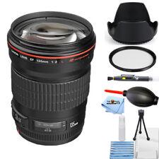 Canon EF 135mm f/2L USM Lens #2520A004 STARTER BUNDLE BRAND NEW!!