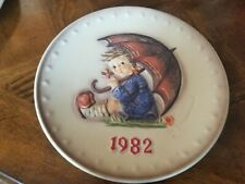 1982 Goebel M.J. Hummel Annual Plate 12Th Edition