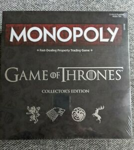 Monopoly: Game of Thrones Collector's Edition Board Game new and sealed