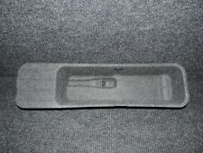 2011-2014 F150 GRAY OEM CCO* UNDER REAR SEAT JACK & TOOLS COVER TRAY TRIM  # 91
