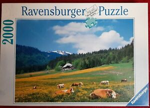 Innen OVP: 2000 Teile Puzzle Ravensburger 166398 Schwarzwald Bärental Feldberg