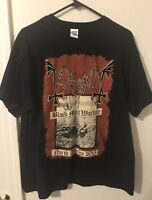Mayhem Tour XL venom Marduk emperor darkthrone immortal taake Watain RARE
