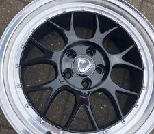 """17"""" KR638 BBS LMR style alloy wheel black 17x7.5 5-100 et35 / SINGLE WHEEL"""