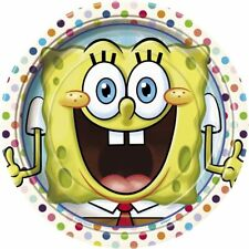 """Spongebob Party Pack for 8: 16 Napkins,  Eight 9"""" Plates"""