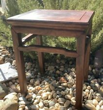 New listing Antique Chinese Ming Meditation Bench Table Handmade 19th Century