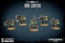 WARHAMMER 40K - ORKS ORK LOOTAS