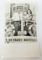 Detroit to Buffalo Ferry Photograph Postcard 1994 Good By Flint