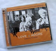 Love and Adore by Parachute Band 2 Discs CD 2000 Autographed By The Band