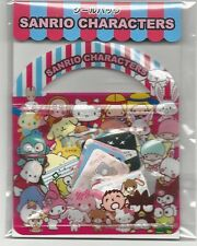 Sanrio Hello Kitty Tuxedo Pochacco Badtz Kuromi Keroppi Sack of Stickers