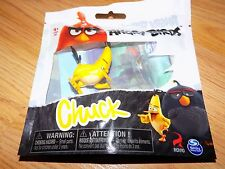 "Angry Birds Yellow Bird Chuck 2"" PVC Figure Cake Topper New Spin Master"