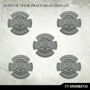 Kromlech Sons of Thor Praetorian Shields (5) Brand New KRCB217