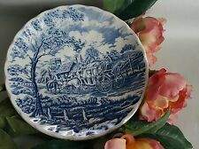 "5.5"" Royal Wessex, Made In England, Royal Mail Blue Coach Horse, Saucer"