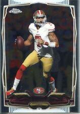 Topps Chrome Football 2014 Veteran Card #56 Colin Kaepernick - San Francisco