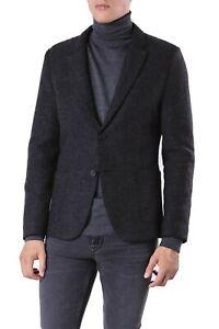 Hugo Boss Mens 'Agaltu' Slim Fit Charcoal Heavy Wool Blend Sport Coat Blazer 38R