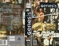 Genesis - A History Vhs - Pal - N&S - Never played! - Original Oz release