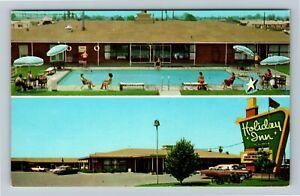 Greenville MS-Mississippi, Holiday Inn Of Greenville, Chrome Postcard