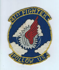 50s(F-86 era) 41st  FIGHTER INTERCEPTOR SQUADRON  patch