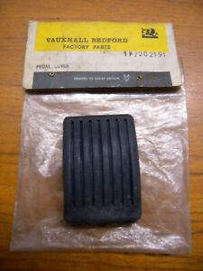 Genuine NOS Vauxhall viva pedal rubber 7202191