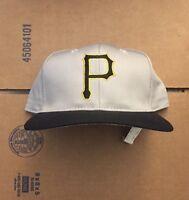 Vtg DS Pittsburgh Pirates Snapback Hat Cap 90s Jersey Logo NWOT Steelers Bonds