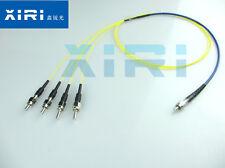 Y-type fiber SMA905 1X4 fiber reflective probe quartz fiber bundle 200-1100nm