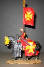 KING AND COUNTRY MK008(S) SPECIAL  - MOUNTED KNIGHT WITH FLAG - 1:30 SCALE