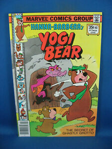 YOGI BEAR 1 VF- FLINTSTONES MARVEL 1977