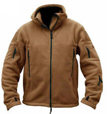 Tactical Military Fleece Recon Hoodie Zip Up Army Combat Jacket Security Hoody