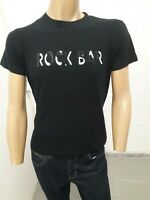Maglia ROCCOBAROCCO Uomo T-shirt Man Polo Homme Taglia size 52 Cotone Nero 8626