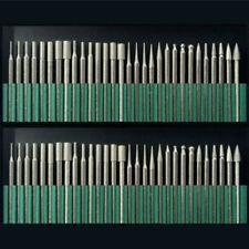 30pc Diamond Burr Rotary Tool Bit Set Dremel Engraving Tiles Stone Glass Wood