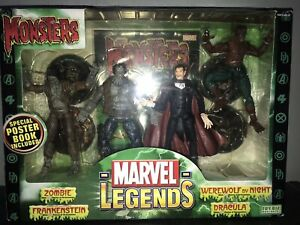 Unopened Marvel Legends Monsters from Toybiz 2006