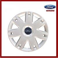 "Genuine Ford Fiesta Mk6 15"" Single Wheel Trim Cover Hub Cap x1 New! 1320901"