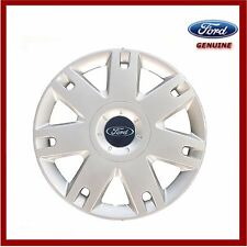 "GENUINE FORD FIESTA Mk6 15"" Roue Simple enjoliveur de x1 NOUVEAU! 1320901"