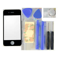 Repair Replacement LCD Front Screen Outer Glass Lens + Tools For iPhone 4G/4