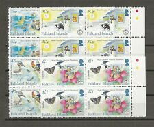 FALKLAND ISLANDS 2005 SG 1030/3 MNH Blocks of 4 Cat £37