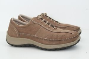 IMAC Mens Soft Leather Lace-Up Casual Dress Brown Shoes Size UK 7 EU 41