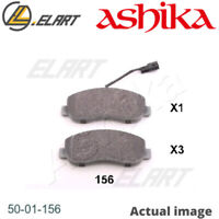 DISC BRAKE PADS SET  FOR NISSAN RENAULT VAUXHALL OPEL NV400 BUS ASHIKA