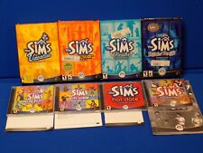 The Sims Expansion Pack LOT Vacation Superstar Unleashed Hot Date House Party ++