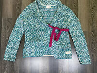 Odd Moly #233 Knitted Cardigan Green Size 2 / M Sweater