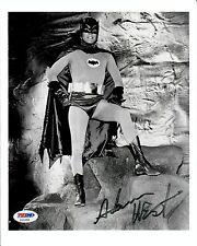 Adam West Batman Family Guy Pow Zap Signed Authentic Autographed 8x10 Photo PSA
