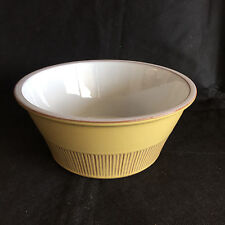 Cleopatra by FRIS Holland Mid-Century Pottery Vegetable Serving Bowl  Yellow