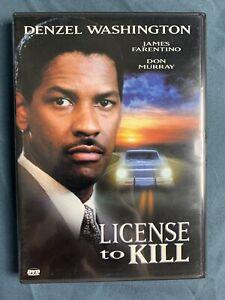 License to Kill (DVD, 2004, FS)  Denzel Washington