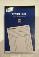 Invoice Duplicate Receipt Book Numbered 1-80 Pages With Carbon Sheets Size A5