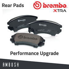 Brembo Xtra Rear Brake Pads Fast Road BMW 1/2/3/4 series Latest Performance Pads